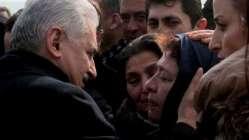 Başbakan Yıldırım, birlikte yemek yediği El Bab şehidinin cenazesine katıldı