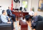 Başkan Karaosmanoğlu'ndan, Güneş'e iadeyi ziyaret