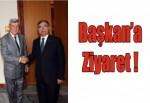 Başkan Karaosmanoğlu'ndan İsmet Yılmaz'a hayırlı olsun ziyareti