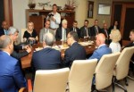 Başkan Karaosmanoğlu, Ukraynalı konuklarını ağırladı