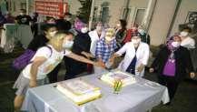 Darıca Farabi'de anlamlı kutlama