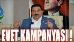 Demir'den Gençlere kararım EVET kampanyası !