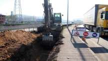 Dilovası'ndaki alt yapı çalışmasında bin metrelik kısım tamamlandı