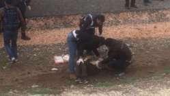 Diyarbakır'da şok! Nevruz alanına bıçakla girmek isteyen kişi vuruldu