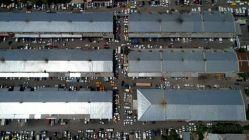 Dolu sonrası oto sanayii... Yüzlerce araç kuyrukta