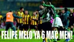 Felipe Melo'ya 6 maç men!