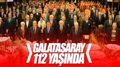 Galatasaray'ın 112. yılı kutlandı