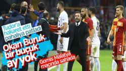 Gomis'e 1, Okan Buruk'a 5 maç ceza