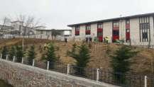Karamürsel İtfaiye Binası çevresinde ağaçlandırma