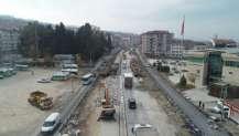 Karamürsel Köprülü Kavşağı'nda çalışmalar hız kesmiyor