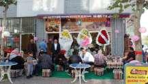 Kıtlama Semaver Cafe 'ye görkemli açılış
