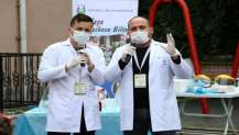 Kocaeli Bilim Merkezi Bilim Haftası'nda Gebze'deydi
