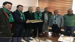 Kocaelispor'dan çevik kuvvete moral ziyareti