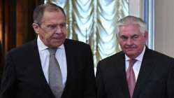 Lavrov ve Tillerson bir araya geldi! Canlı yayında gergin anlar