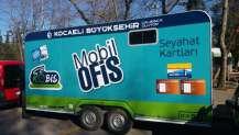 Mobil ofis karavanı Kartepe'de