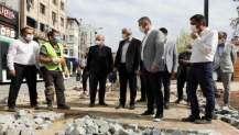 Pişmaniyeciler Meydanında ki çalışmalar 29 Ekim'de tamamlanacak