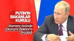 Putin Ekonomi Bakanı'nı fırçaladı