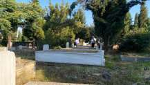 Şayir, bayram öncesi mezarlıkları denetledi