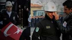 Şehit polisler memleketlerinde son yolculuğuna uğunlanıyor