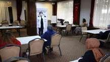 Seka Park Otel personeline Covid-19 eğitimi
