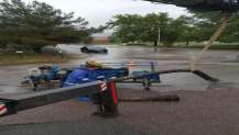 Şiddetli yağışta Büyükşehir çalışmalar da.