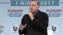 Son dakika... Cumhurbaşkanı Erdoğan Diyarbakır'da konuşuyor...