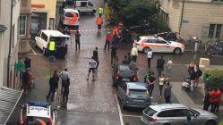Son dakika... İsviçre'de saldırı! Yaralılar var