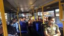 Toplu taşıma günlük kullanımı 200 binin üstüne çıktı