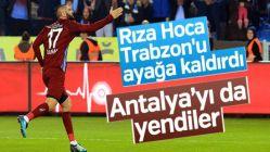 Trabzon, Antalyaspor'a 3 attı