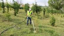 Yeni arazözler ile ağaçlar susuz kalmayacak