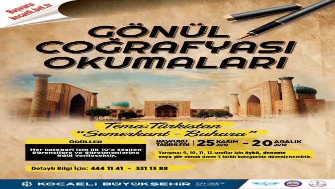 """Türkistan temalı """"Gönül Coğrafyası Okumaları"""" başlıyor"""