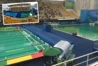 Yine yeşillendi Rio havuzları!