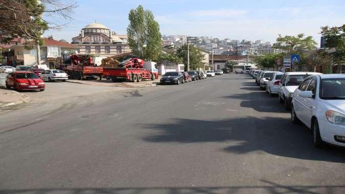 Yoğun kullanılan caddede yol konforu arttırıldı