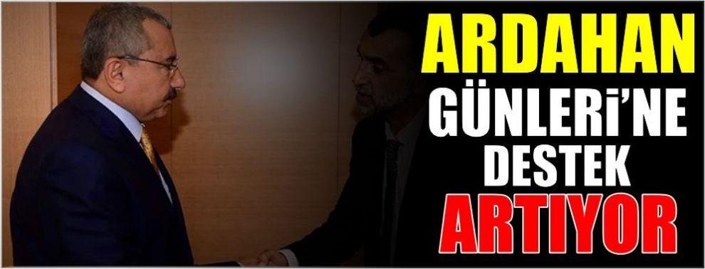 ARDAHAN GÜNLERİ'NE DESTEK ARTIYOR