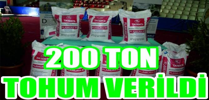 Büyükşehir'den çiftçilere yüzde 50 hibeli bin 200 ton tohum