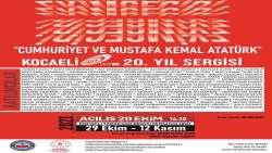 CUMHURİYET BAYRAMINA ÖZEL SERGİ TARİHİ GAR BİNASI'NDA