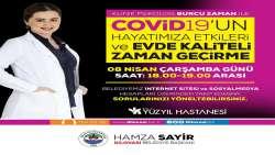 Dilovası Belediyesi'nden sosyal medyadan Covid19 semineri