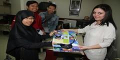 Endonezyalı öğrenciler Büyükşehir'i davet etti