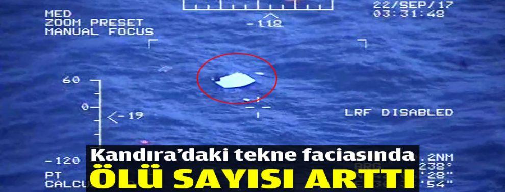 Kandıra'daki tekne faciasında ölü sayısı arttı