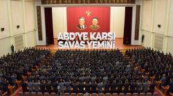 Kuzey Kore ordusundan savaş yemini