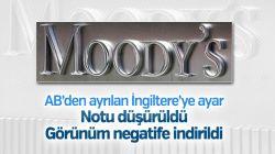 Moody's İngiltere'nin uzun vadeli kredi notunu düşürdü