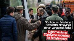Yunan yargısından sığınmacıların Türkiye'ye iadesine onay